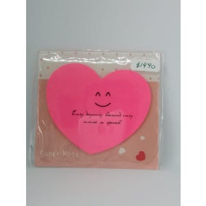 Etiqueta adhesiva corazón