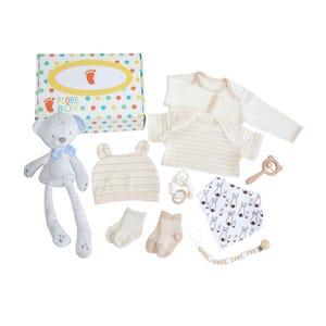 Set de bienvenida recién nacido oso. pequebox