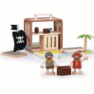 Isla Pirata maleta de juego Boxset