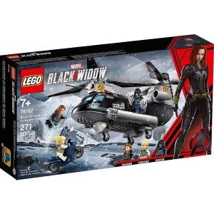 Persecución en Helicóptero de Black Widow