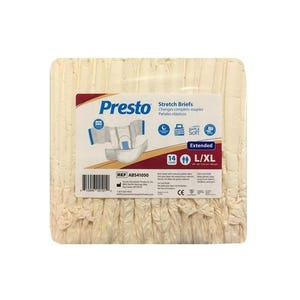 Pañal DRYLOCK PRESTO Premium Nocturno Talla L / XL