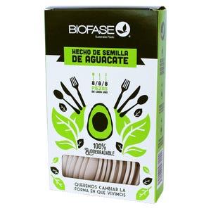 Mix Biodegradables 24 Unidades Hecho del Cuesco de la Palta