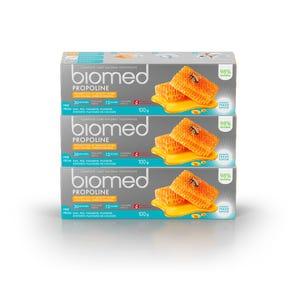 pasta dental BIOMED Propoline 100gr, Pack 3 unidades