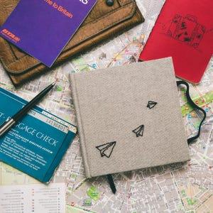 Cuaderno de Viaje Gris