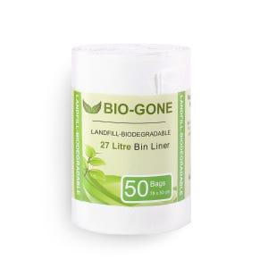 250 BolsaS De Basura Biodegradable Cocina (camiseta)
