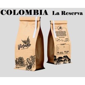 Café de especialidad en grano Colombia, fundo La Reserva