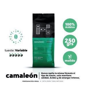 Café molido Tueste Variable WE ARE FOUR Camaleón 250grs.