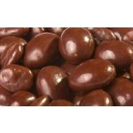 Garbanzos tostados bañados en chocolate bitter