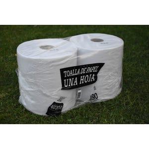 Pack de 2 Rollos de toalla de papel Institucional 190 metros