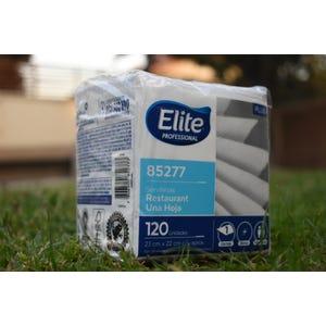 600 Servilletas Cóctel Elite 23x22 (5 paquetes de 120 unidades)