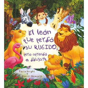 El León que perdió su rugido pero aprendió a dibujar