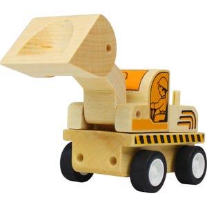 Camión de madera - Excavadora