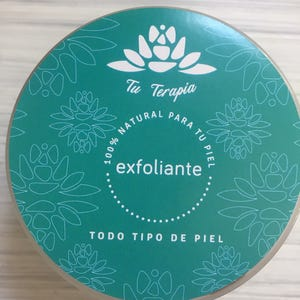 Exfoliante Natural Tu Terapia