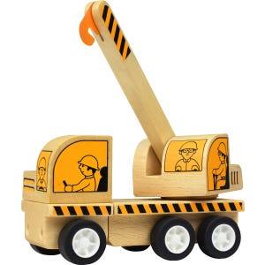 Camión de madera -  Grúa