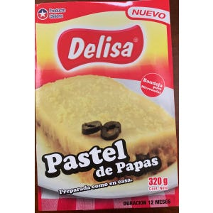 PASTEL DE PAPAS 320 gr. - PLATO PREPARADO MICROONDEABLE
