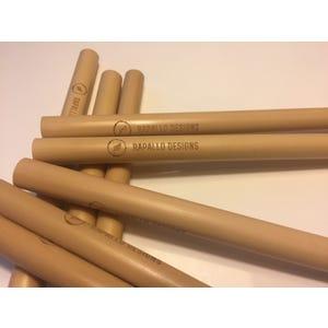 Estuche Bombillas Bambú 12 unidades 1 limpiador