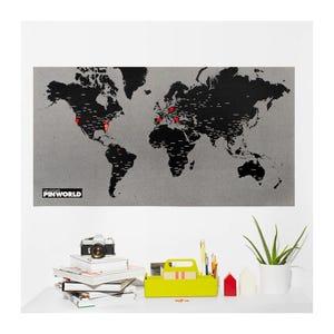 Mapa Pin World