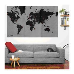 Mapas Pin World XL