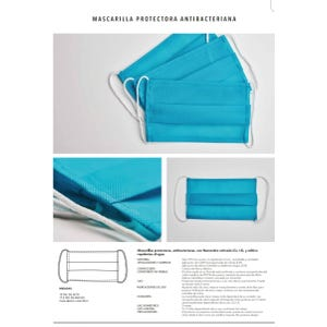 Mascarilla reutilizable con Nanocobre