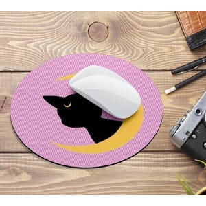 Mouse Pad Sailor Moon Redondo