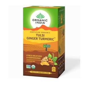 Té Organic India Tulsi Turmeric Ginger