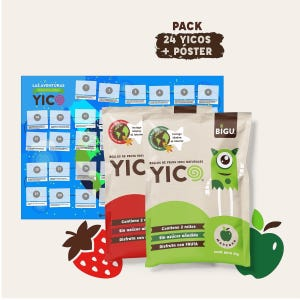 Pack 24 YICOS y Póster