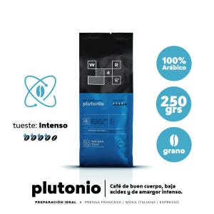 Café en grano Tueste Intenso WE ARE FOUR Plutonio 250grs.