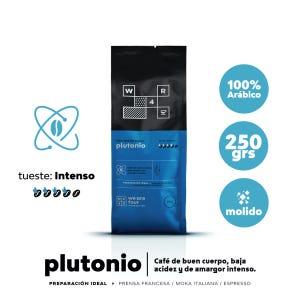 Café molido Tueste Intenso WE ARE FOUR Plutonio 250grs.