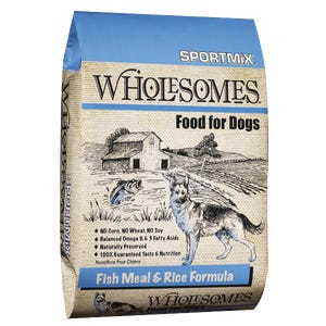 SPORTMIX Wholesomes™ - Fish Meal & Rice Formula 12KG