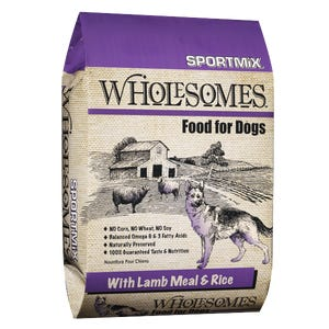 SPORTMIX Wholesomes ™ - Lamb & Brown Rice 12KG