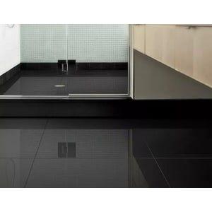 Porcelanato Negro Pulido 60x60 cm (Pleno)- caja=1.44mt2- $11.760 mt2 c/IVA - ICFIVE