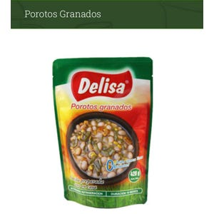 POROTOS GRANADOS 420 gr. - PLATO PREPARADO EN POUCH