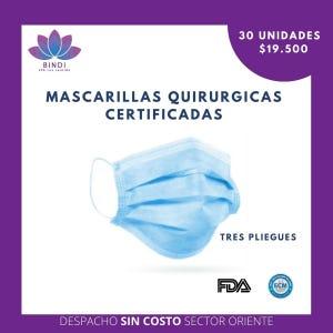 MASCARILLAS QUIRURGICAS