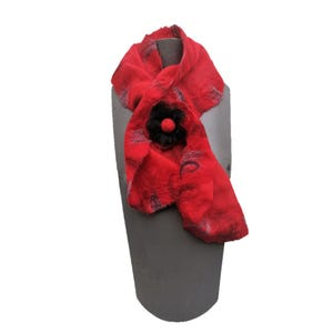 pañuelo cruzado rojo