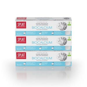 pasta dental SPLAT Biocalcium 100ml, Pack 3 unidades