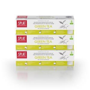 pasta dental SPLAT Green Tea 100ml, Pack 3 unidades