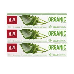 pasta dental SPLAT Organic 75ml, Pack 3 unidades