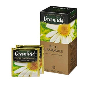 Té Greenfield Rich Camomile