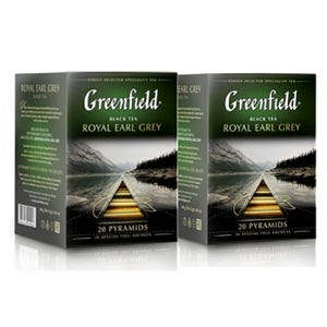 PACK 2 CAJAS DE TÉ GREENFIELD ROYAL EARL GREY