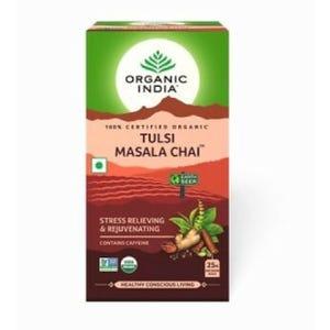 Té Organic India Tulsi Masala Chai