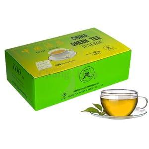 TÉ VERDE 100 bolsitas - Butterfly Brand . China Green Tea.