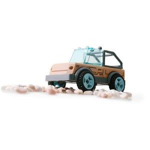Auto Jeep de madera