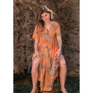 Vestido Nena Naranjo