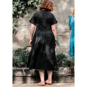 Vestido Nena Tencel Negro