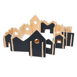 Woodis Constructor Pizarra, Set Grande, 28 Piezas