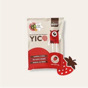 Pack 16 YICOS Frutilla