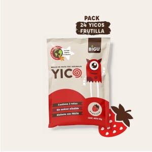 Pack 24 YICOS Frutilla